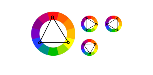 Triadic Colors - HTML Color Picker
